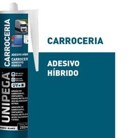 ADESIVO HIBRIDO CARROCERIA BRANCO 280ML - UNIPEGA