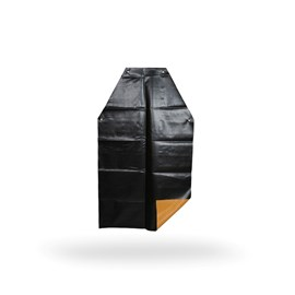 AVENTAL KP1000 LAR./PTO 1,20X0,65 T.SOLDADAS - C/BAINHA