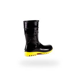 BOTA DE PVC CANO CURTO PRETO S/FORRO 82BPC600SF N.41 BRACOL