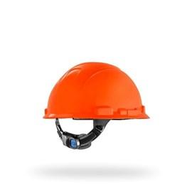 CAPACETE LARANJA AJUST FACIL H-700