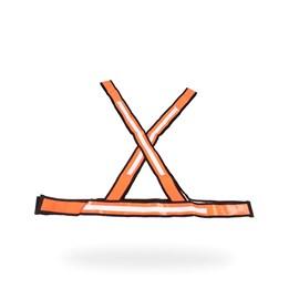 COLETE   X    LARANJA/BRANCO REFLETIVO WPS2110