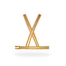 COLETE X - LARANJA C/ REFLETIVO