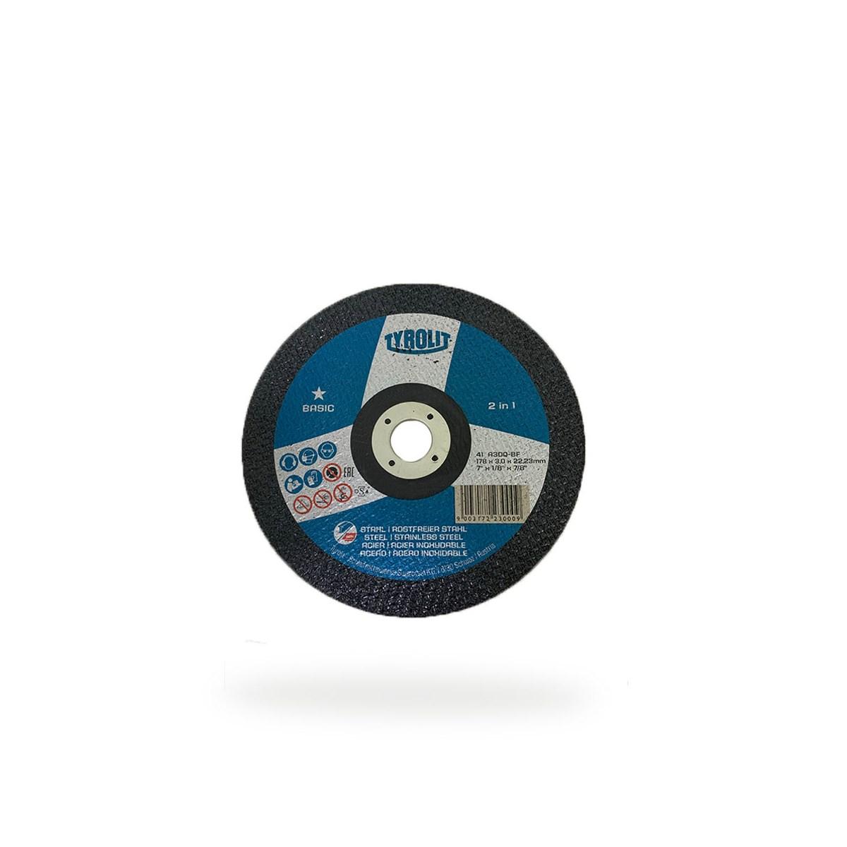 DISCO DE CORTE 41 178X3,0X22,23 A30Q-BF 2IN1 BASIC