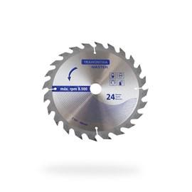 DISCO DE CORTE 7.1/4  (184MM) 24 DENTES P/ SERRA CIRCULAR TRAMONTINA