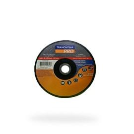 DISCO DE CORTE FINO P/ ACO INOX E MATERIAIS ENDURECIDOS 7  (180X1,6X22,23MM) TRAMONTINA PRO