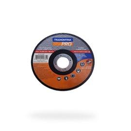 DISCO DE CORTE P/ ACO INOX E MATERIAIS ENDURECIDOS 4.1/2  (115X1X22,2) TRAMONTINA PRO