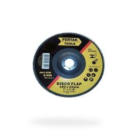 DISCO FLAP 180X22MM (7 X7/8 ) GRAO 80 FERTAK