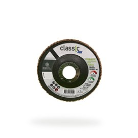 DISCO FLAP 4.1/2 115X22.2 GRAO 40 RETO INOX NORTON