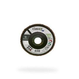 DISCO FLAP 4.1/2 115X22.2 GRAO 60 RETO INOX NORTON