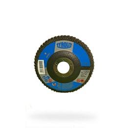 DISCO FLAP OXIDO DE ALUMINIO 28A 115X22,23 A120-B BASIC