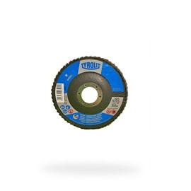 DISCO FLAP OXIDO DE ALUMINIO 28A 115X22,23 A80-B BASIC