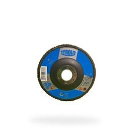 DISCO FLAP OXIDO DE ALUMINIO 28CLA 115X22,23 A120S-B BASIC
