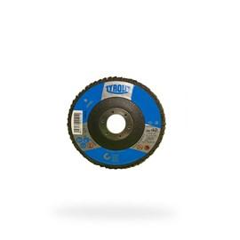DISCO FLAP OXIDO DE ALUMINIO 28CLA 115X22,23 A40S-B BASIC