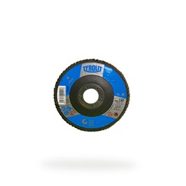 DISCO FLAP OXIDO DE ALUMINIO 28CLA 115X22,23 A60S-B BASIC