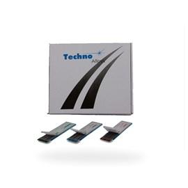 ELETRODO TUNGSTENIO C/ THORIO 3/32X6  (2,40X150MM) TECHNO ALLOYS