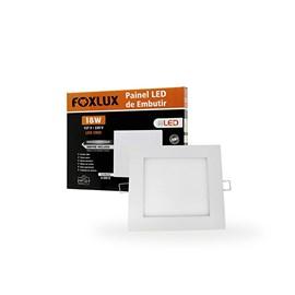 PAINEL LED (DOWNLIGHT RED) EMBUTIR 18W 6500K BIVOLT FOXLUX